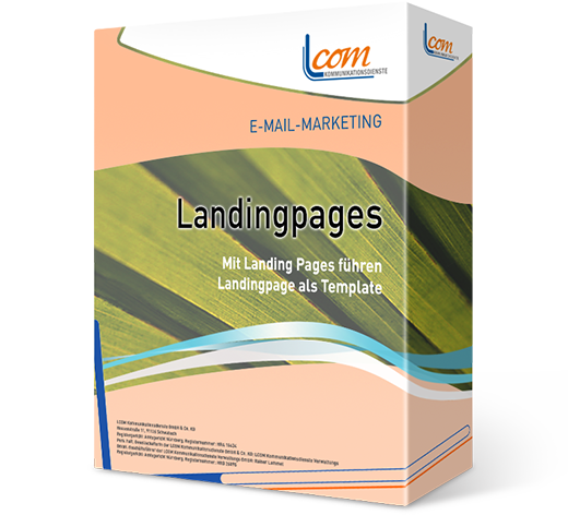 Landingpages für E-Mail-Marketing