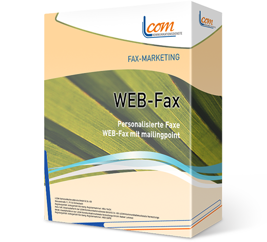 WEB-Fax - alles in einem Portal: Fax, E-Mail, SMS, Postkarte - geballtes Marketing